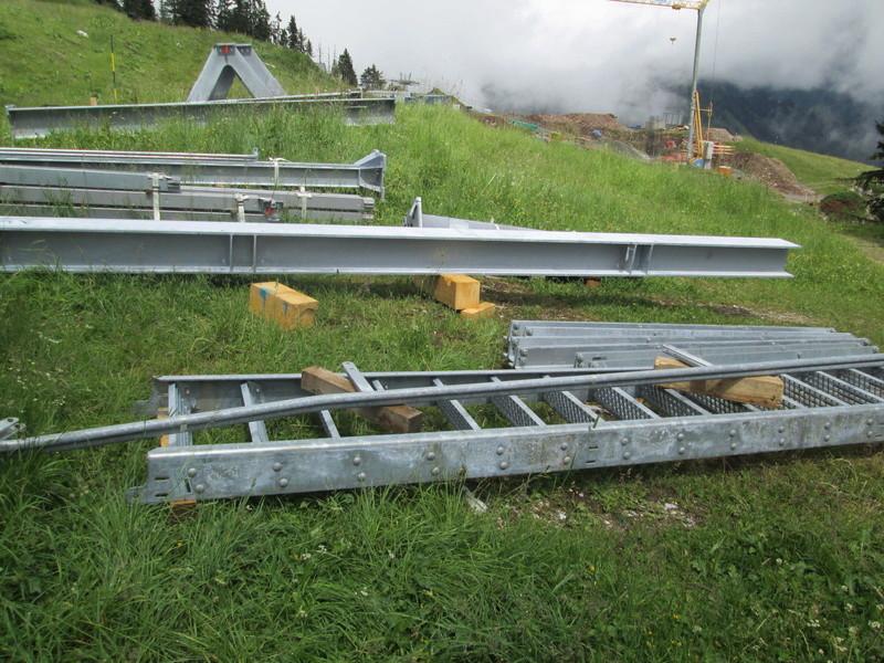 Construction du télésiège débrayable 4 places Le Fer-Brion-Tête d'Ai à Leysin VD Suisse (TSD4) Img_2023