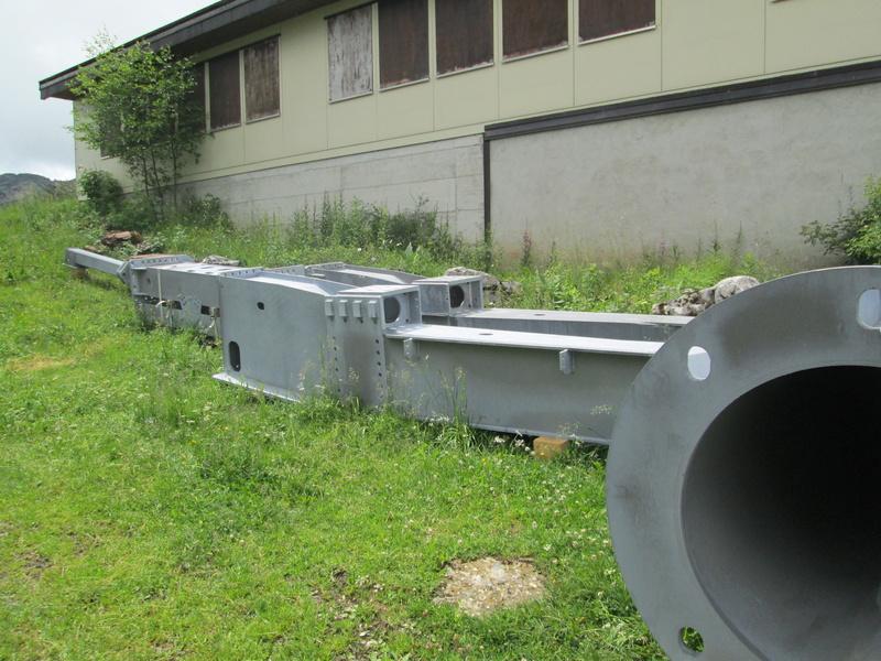 Construction du télésiège débrayable 4 places Le Fer-Brion-Tête d'Ai à Leysin VD Suisse (TSD4) Img_2025