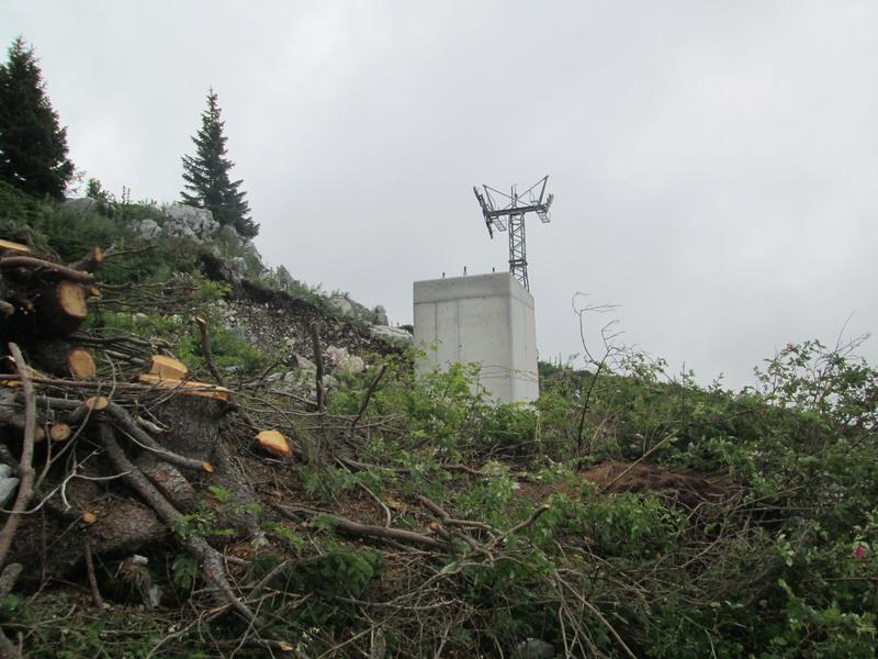 Construction du télésiège débrayable 4 places Le Fer-Brion-Tête d'Ai à Leysin VD Suisse (TSD4) Img_2026