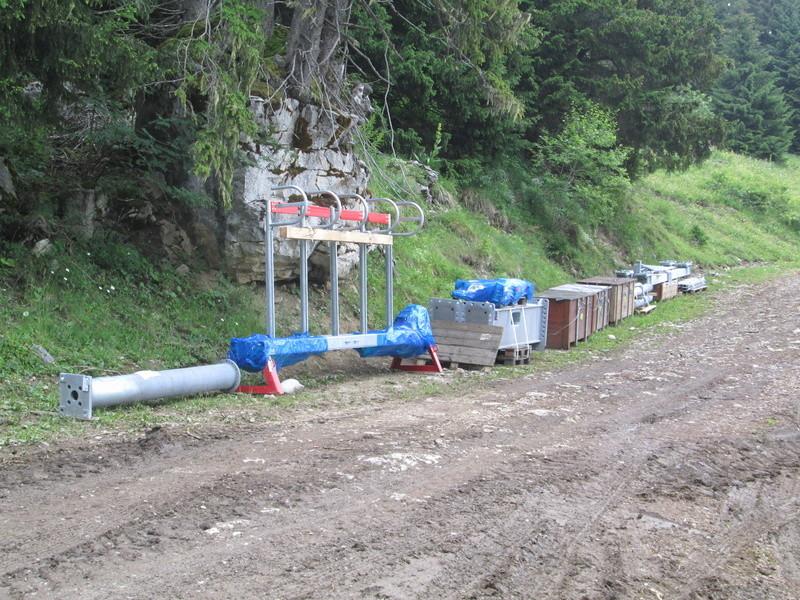 Construction du télésiège débrayable 4 places Le Fer-Brion-Tête d'Ai à Leysin VD Suisse (TSD4) Img_2027