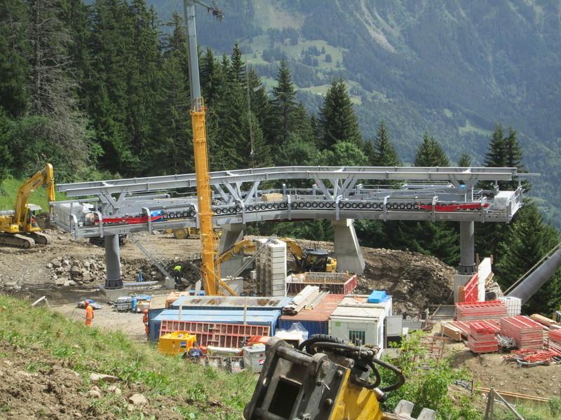 Construction du télésiège débrayable 4 places Le Fer-Brion-Tête d'Ai à Leysin VD Suisse (TSD4) Img_2037
