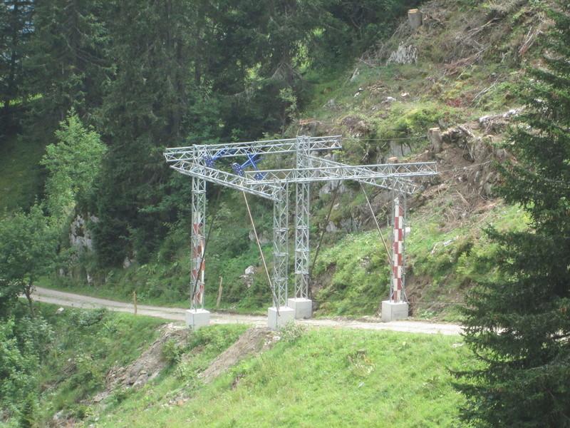 Construction du télésiège débrayable 4 places Le Fer-Brion-Tête d'Ai à Leysin VD Suisse (TSD4) Img_2038