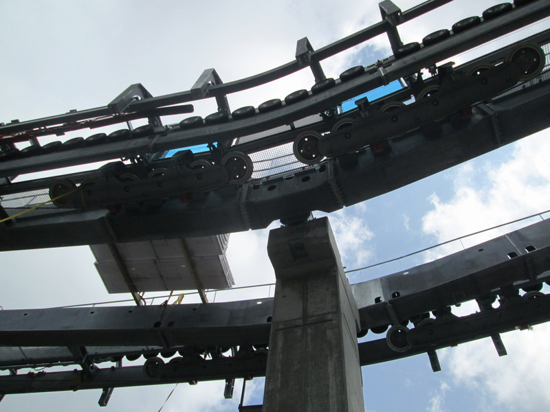 Construction du télésiège débrayable 4 places Le Fer-Brion-Tête d'Ai à Leysin VD Suisse (TSD4) Img_2059