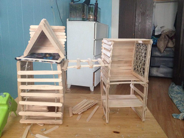 Homemade Popsicle Stick Toys 14282010