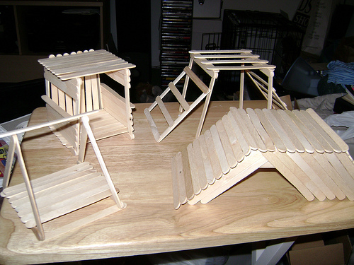 Homemade Popsicle Stick Toys 30514210