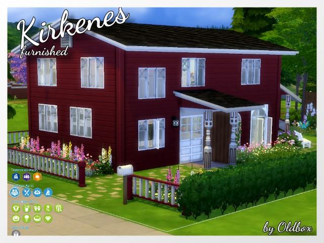 TS4: Scandi Crush House Kirkenes Haus_k10