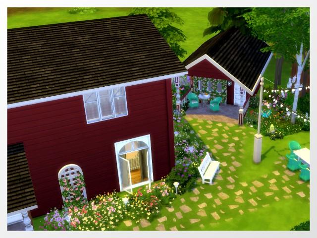 TS4: Scandi Crush House Kirkenes Haus_k11