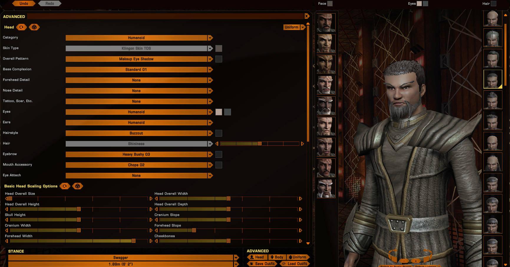 [Tête] Klingon TOS Klingo13