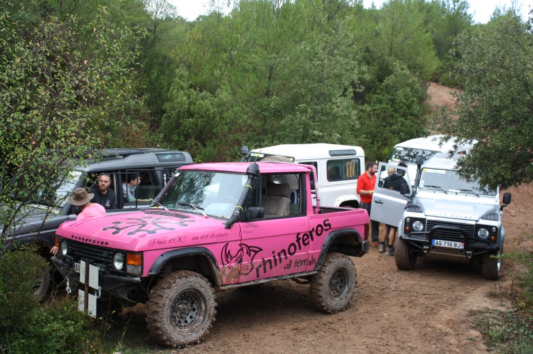 LAND ROVER PARTY (Les Comes) 911