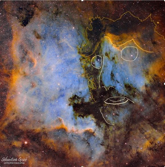 NGC7000 Nébuleuse Nord America - IC5070 Nébuleuse du Pelican Gozei_11