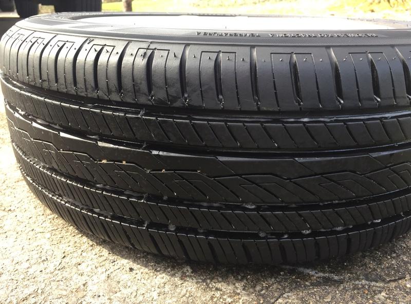 Enkei 17x7 w/ new Yokohama 215/55/17 tires Img_3629