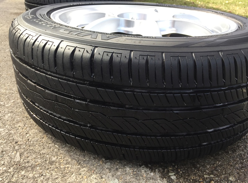 Enkei 17x7 w/ new Yokohama 215/55/17 tires Img_3631