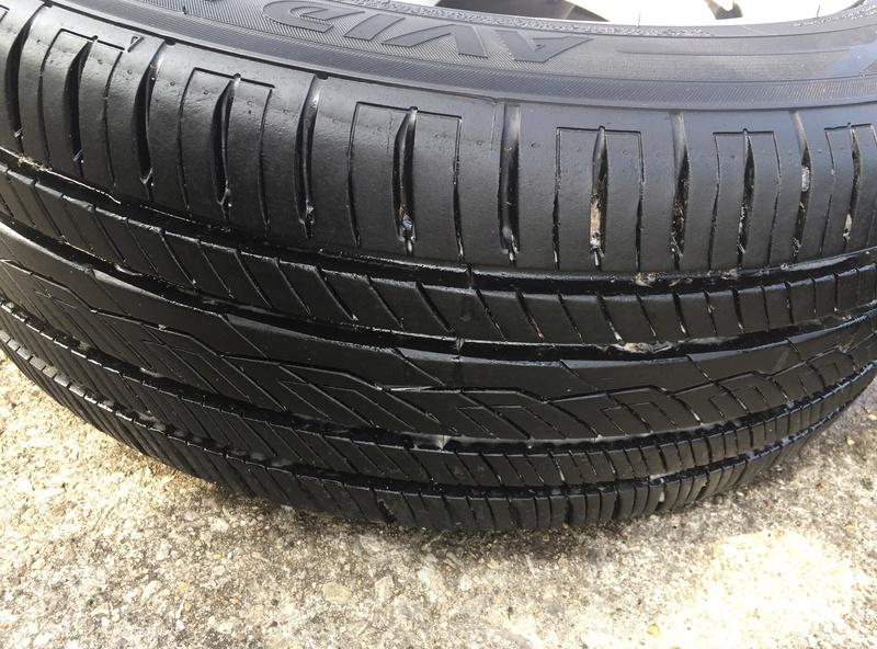 Enkei 17x7 w/ new Yokohama 215/55/17 tires Img_3633