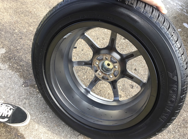 Enkei 17x7 w/ new Yokohama 215/55/17 tires Img_3635
