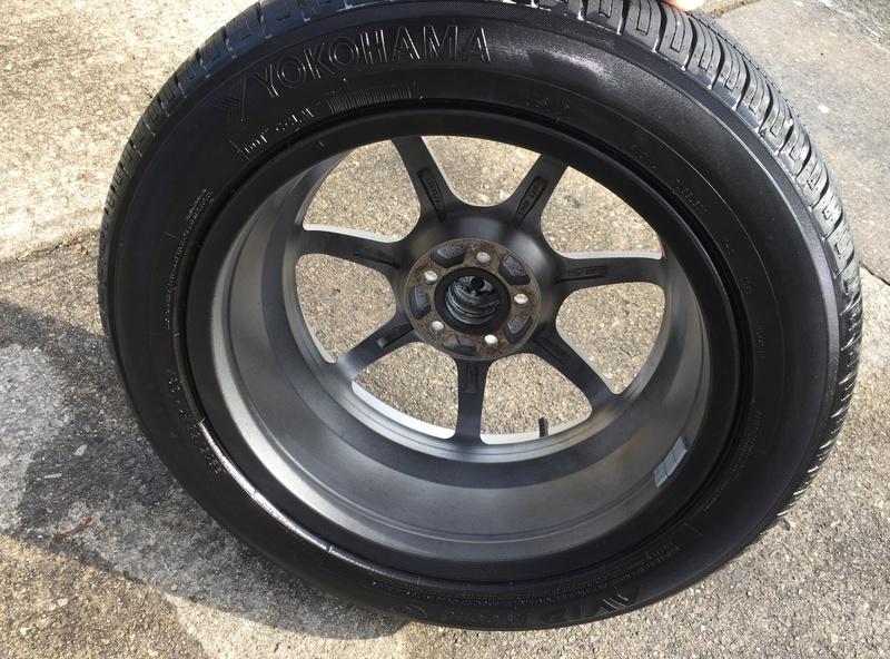Enkei 17x7 w/ new Yokohama 215/55/17 tires Img_3639