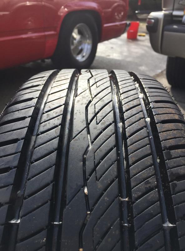 Enkei 17x7 w/ new Yokohama 215/55/17 tires Img_3641