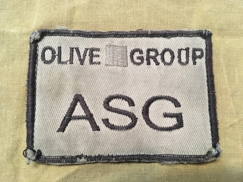 Olive Group patch Img_0238