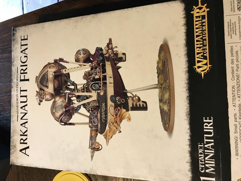 Arkanaut Frigate Warhammer  Img_0710