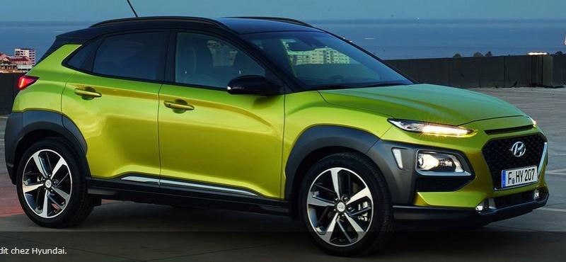 Hyundai Kona et Kia Stonic pour l'automne 2018 Kona_v13