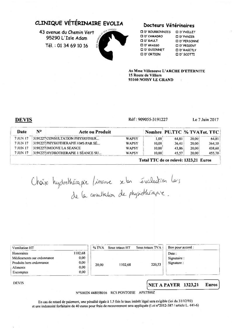 4 434.03 EUROS DE FACTURES A PAYER POUR NOTRE PAUVRE WAPSY Devis_10