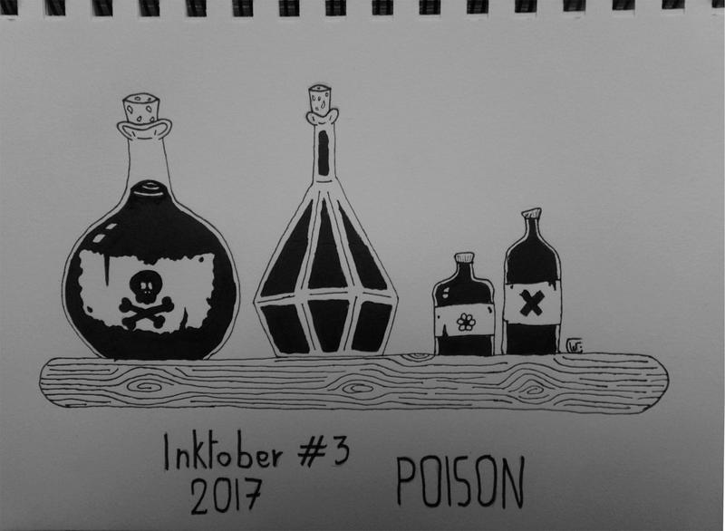 [Terminé] Inktober 2017 - Page 3 Inktob11