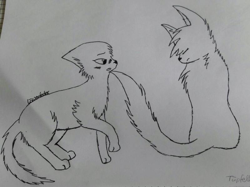 Löwe traut sich kreativ zu sein Zeichn11
