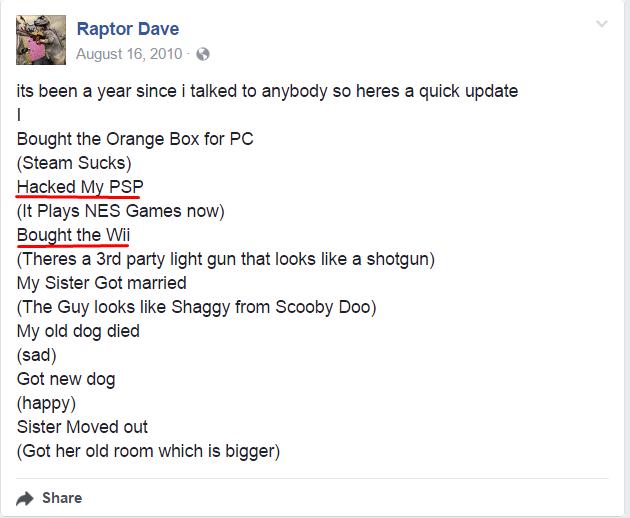 """Raptor CoDBO """"Releasing"""" Stolen Wii Codes in 2017 Screen10"""