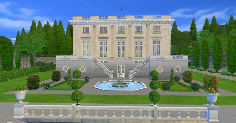 Le Petit Trianon... version Les Sims ! 17-08-10