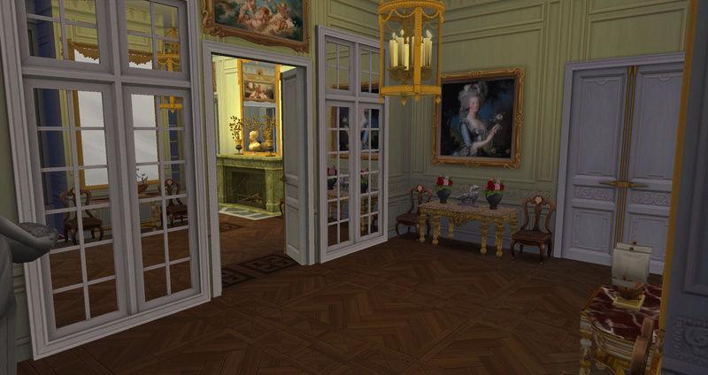 Le Petit Trianon... version Les Sims ! 29-08-11