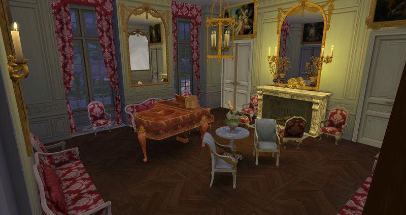 Le Petit Trianon... version Les Sims ! 29-08-12