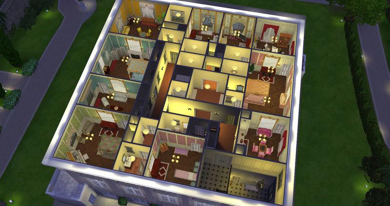Le Petit Trianon... version Les Sims ! 29-08-13