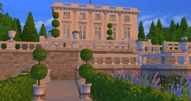 Le Petit Trianon... version Les Sims ! 29-08-14