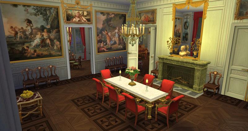 Le Petit Trianon... version Les Sims ! 29-08-15