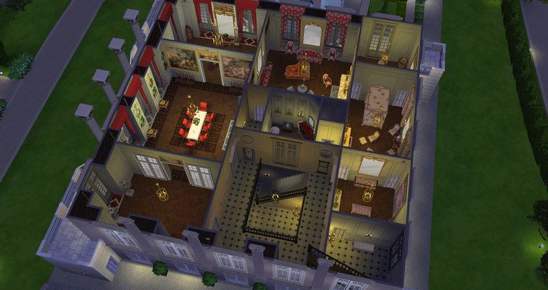 Le Petit Trianon... version Les Sims ! 29-08-16