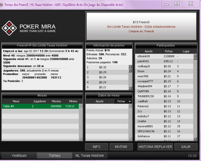 3 éme FREE sur PokerMira!!! YOUPI !!! Captur13