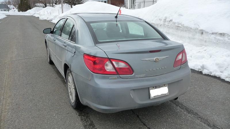 VENDU - Auto Seibring à vendre pour une Amie Suz410