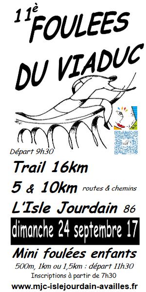 Foulée du viaduc Isle-jourdain (86) 24/09/17 Foulye10