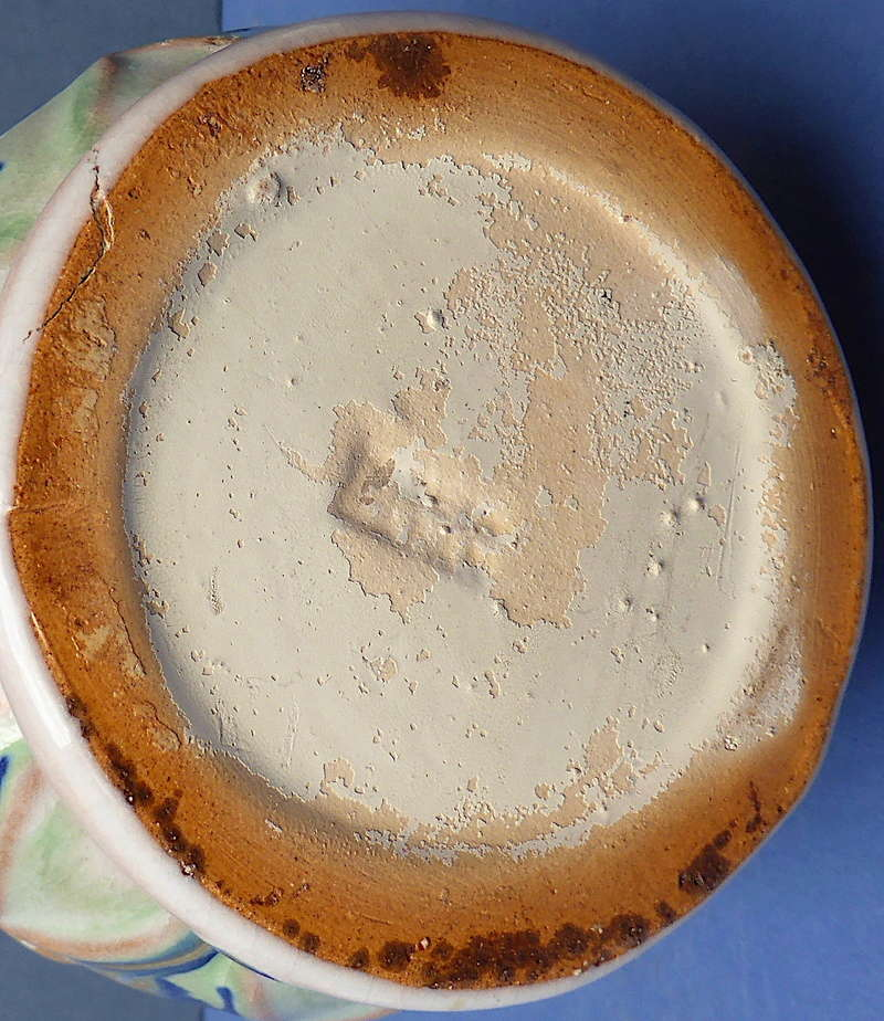 Help to ID Pair of 1930s Drip Glaze Vases P1360512