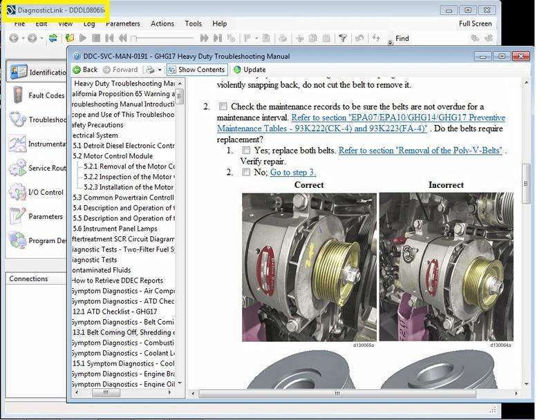 Detroit Diesel Diagnostic Link DDDL 8.06 SP2 (DDDL 8.06) SP2 Full 2017 Dddl8011