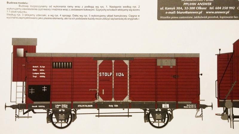 Preuss. gedeckter Güterwagen G10 mit Bremserhaus, M 1:16 20171011