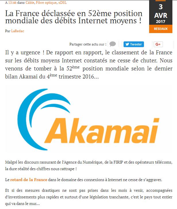 Coup de gueule du jour   Connexion Internet  France10