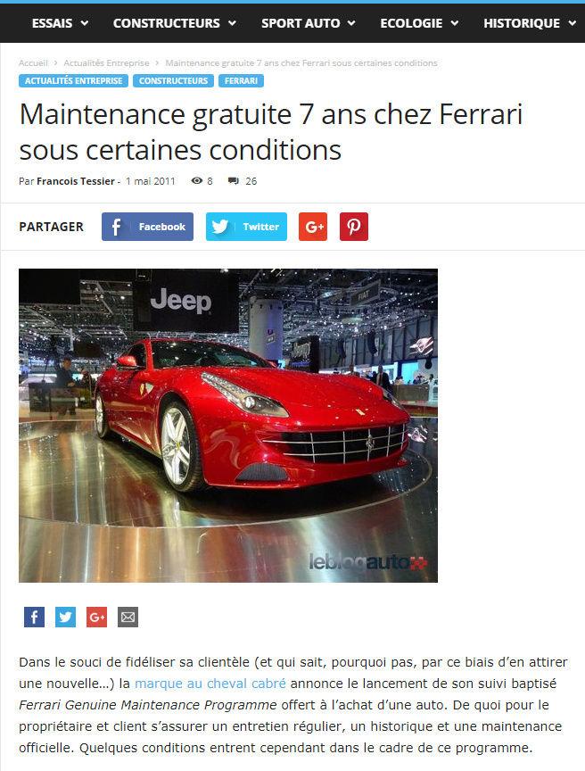 ...et à part Porsche, vous avez eu quelles autos? - Page 3 Mainte10