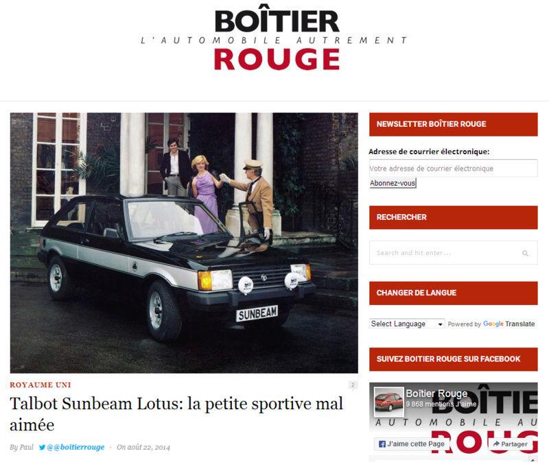 ...et à part Porsche, vous avez eu quelles autos? - Page 4 Talbot10