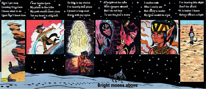 Embala's ElfQuest Collages Bright11