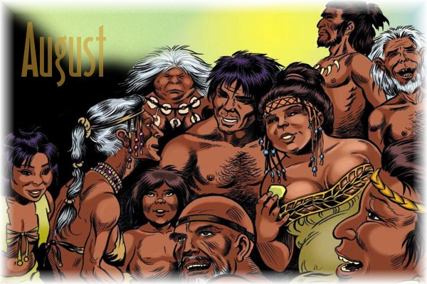 An ElfQuest Birthday Calendar Cal-0810