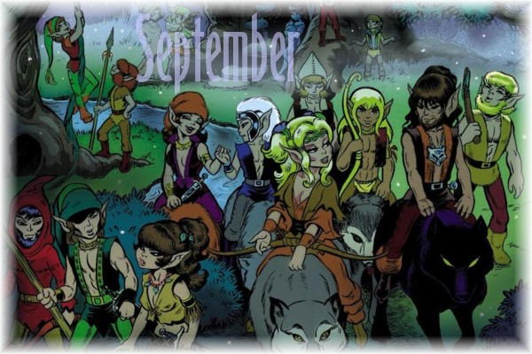 An ElfQuest Birthday Calendar Cal-0910