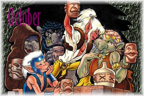An ElfQuest Birthday Calendar Cal-1010