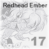 It's Redhead Embers Birthday! Cal04-18