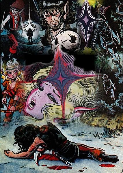 Embala's ElfQuest Collages Deathw10