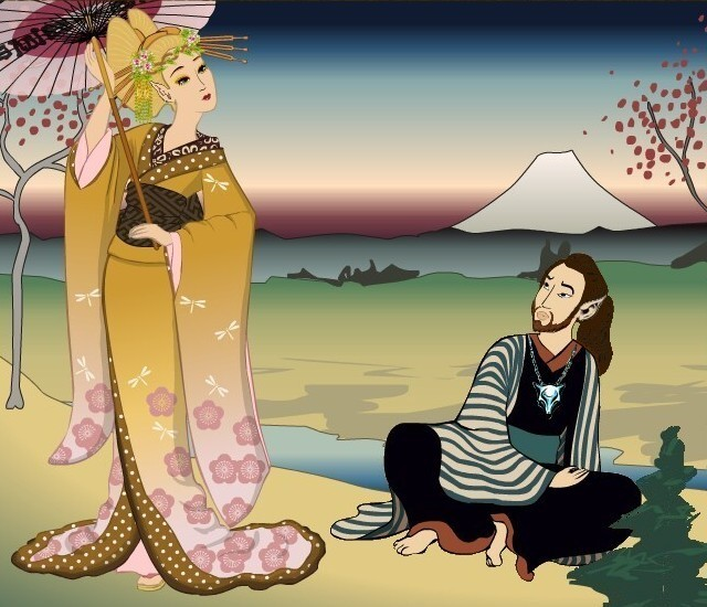 Shaman's Shogun AU Joylea10